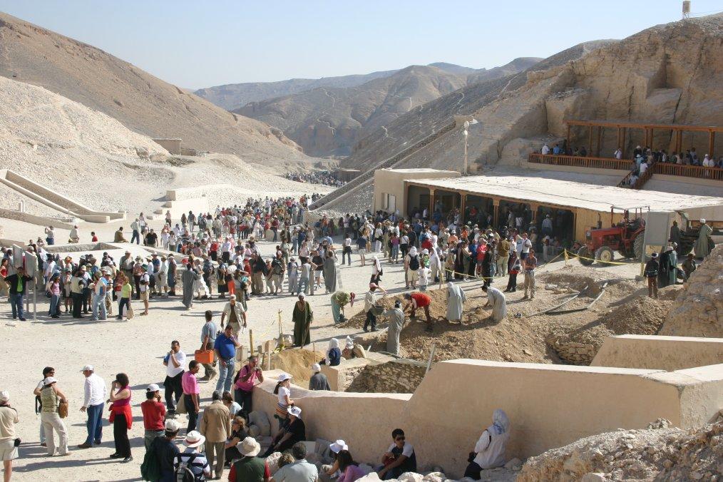 Údolí králů – pohřebiště faraonů