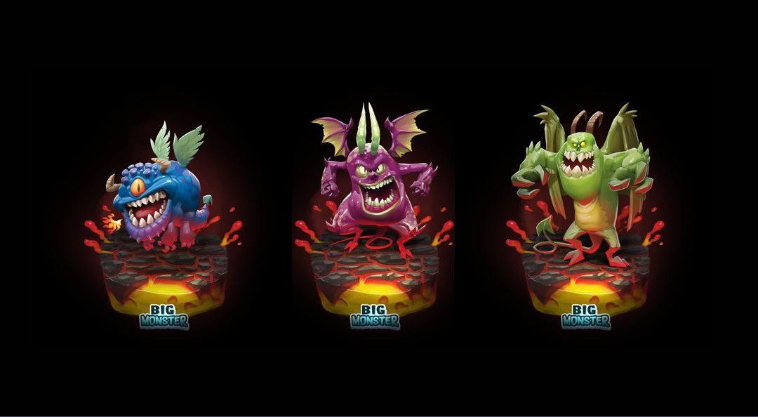 Monstriář – Lávová monstra