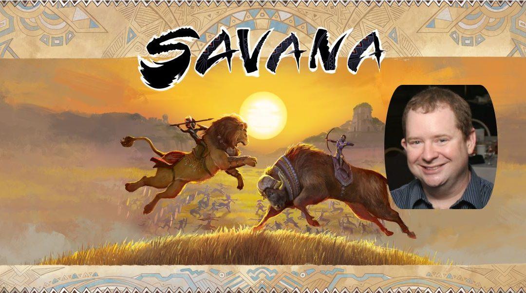 Savana: Interview s designérem Ericem B. Vogelem